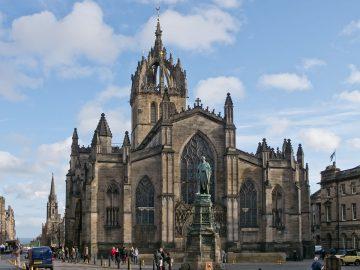 Edinburgas, Šv. Žilio katedra