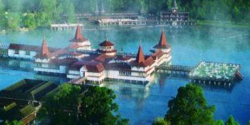 Hevizo ežeras Vengrija