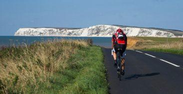 Vaito sala dviračiu, Anglija