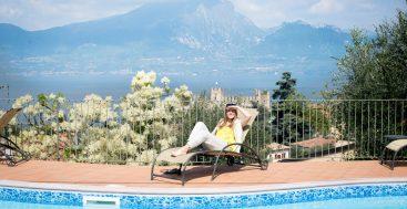 Sesių kelionė aplink Gardos ežerą, Italija
