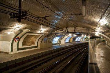 Madridas Anden metro