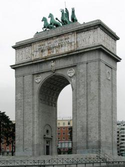 Madridas, Arco de la Victoria