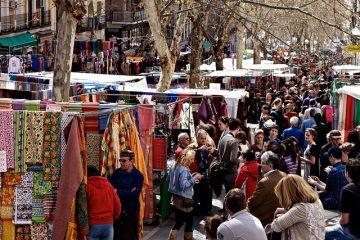 Madridas El-Rastro mercadillo