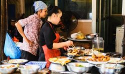 Maisto gaminimas Hoi An, Vietname