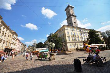 Miesto Rotušė, Lvovas