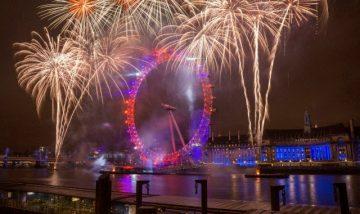 Naujieji Metai Londone