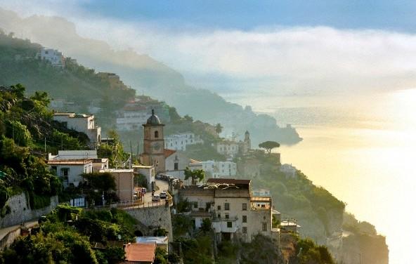Amalfi krantas, Italija