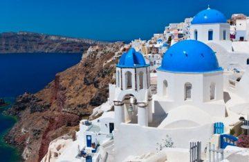 Santorinio sala, Graikija