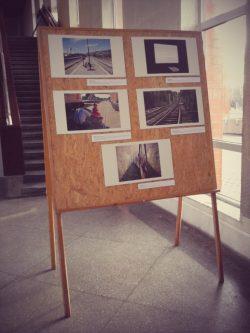 2015.01.10 – 2015.01.23 Klaipėdos traukinių stotyje