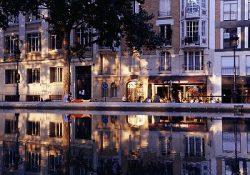 Paryžius, St. Martin kanalas