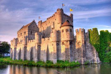 Gravensteen pilis, Belgija