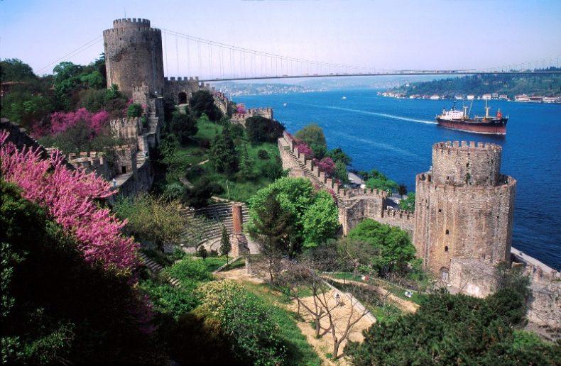 Rumeli Hisari pilis Stambule, Turkija