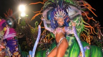 samba, Brazilija