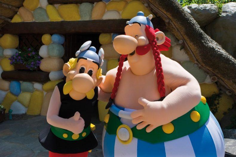 Šeimos kelionės į Asterikso parką, Prancūzija