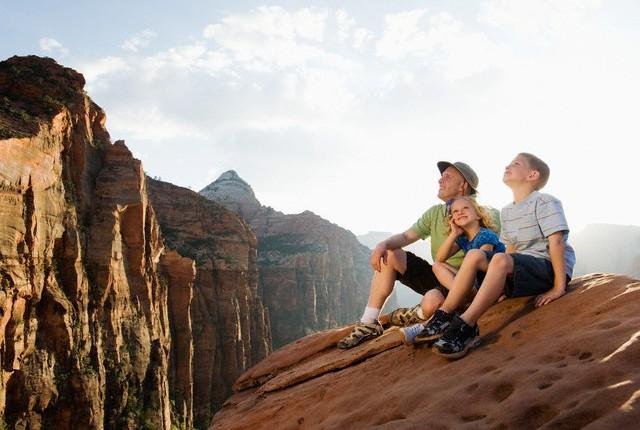Šeimos kelionės į JAV nacionalinius parkus
