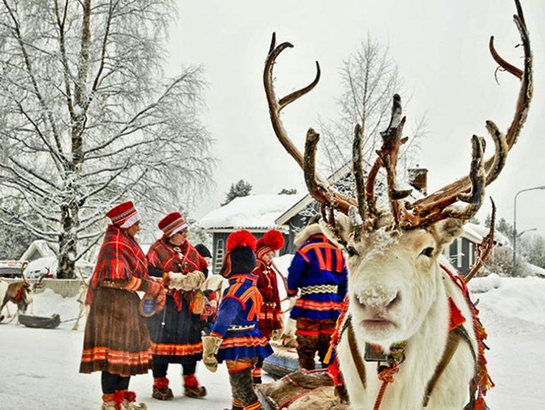 Šeimos kelionės į Laplandiją