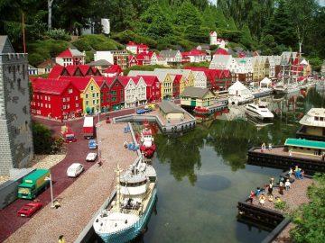 Šeimos kelionės į Legolendą, Danija