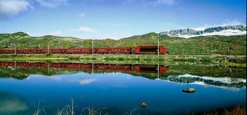 Skandinavija traukiniu