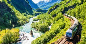Skandinaviškos patirtys traukiniu