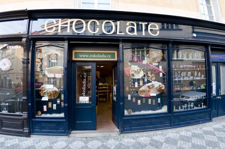 Šokoladas, Praha, Čekija