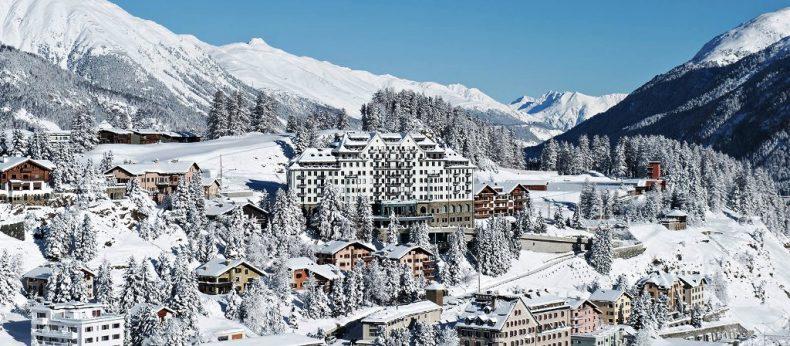 St Moritz žiemą
