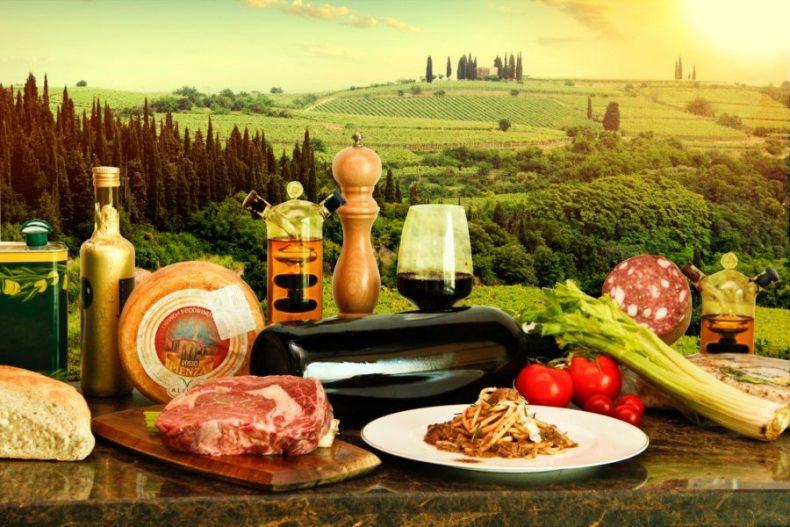 Maisto gaminimo kursai Toskanoje, Italijoje