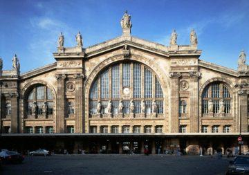 Traukinių stotis. Paris Gare du Nord, Prancūzija