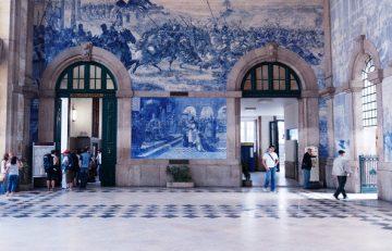 Porto Sao Bento traukinių stotison, Portugalija