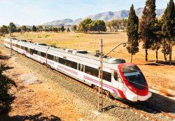 Traukiniai Ispanijoje