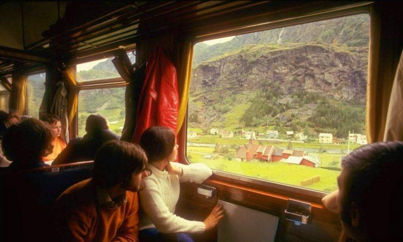 Traukiniu po Europą 1970
