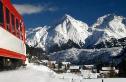 Traukiniu po Alpių viršūnes. Prancūzija ir Italija