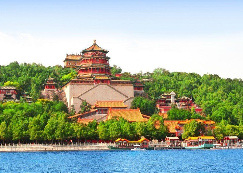 Vasaros rūmai Pekine, Kinija