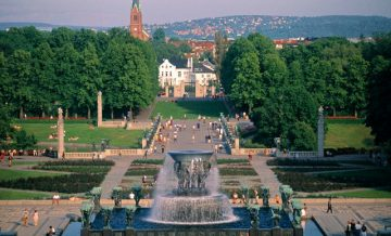 Oslas, Vigelandsparken skulptūrų parkas