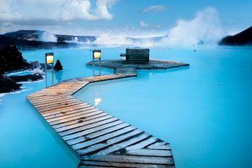 Žydroji lagūna, Islandija
